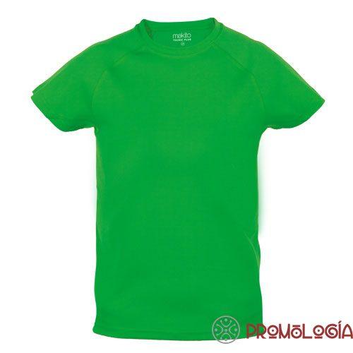 Camiseta poliéster tecnica para niño