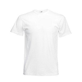 Camiseta blanca publicidad