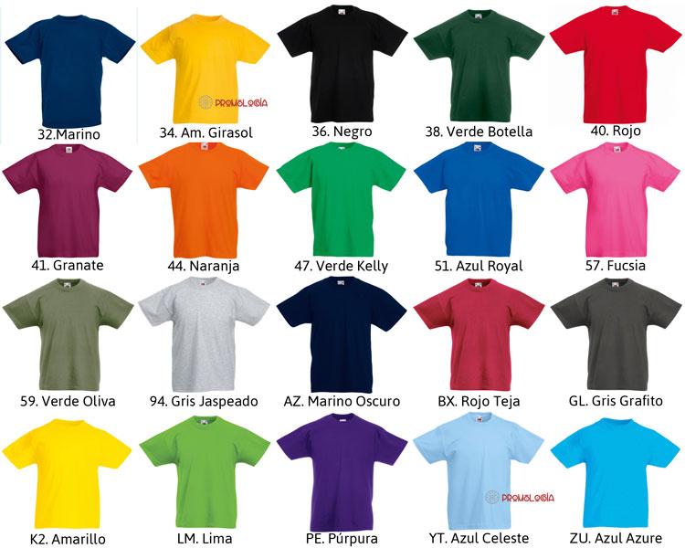 Camiseta Original Color - Camisetas Promocionales a3df2fce1ea77