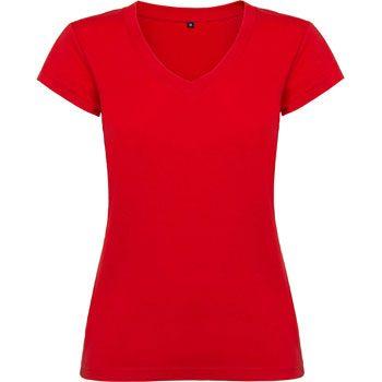 Camiseta publicitaria mujer Roly