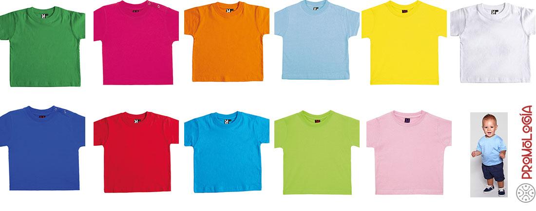 60c95223c Camiseta Baby de Roly - Camisetas Promocionales