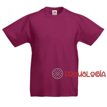 Camiseta publicidad de niño Fruit of the Loom