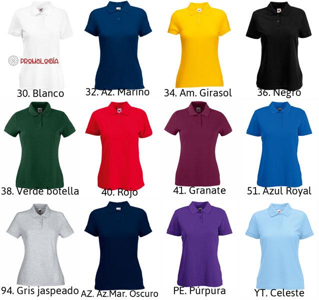 38c40828 Polo 65/35 de mujer manga corta - Camisetas Promocionales