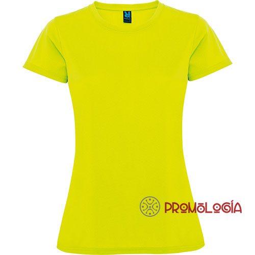 Camiseta poliéster de mujer para publicidad
