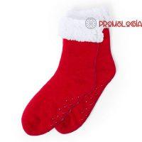 Calcetines antideslizantes de invierno para promoción de empresas y eventos.