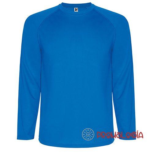 Camiseta deportiva de manga larga