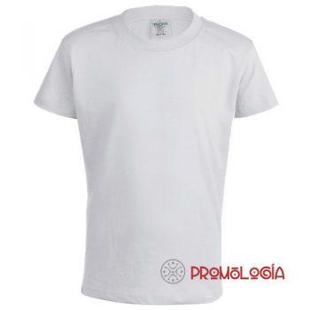 Camiseta promocional básica de niño.