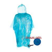 Poncho-llavero promocional para merchandising y publicidad