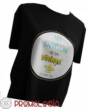 Camiseta impresa en serigrafía