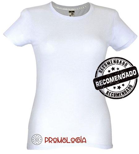 Camisetas de mujer mkt blancas